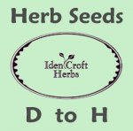 herb seeds D to H